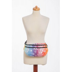 Lennylamb - Sac banane XXL - Swallows Rainbow Light