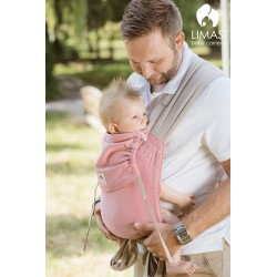 Limas Baby Carrier - Rose/Beige