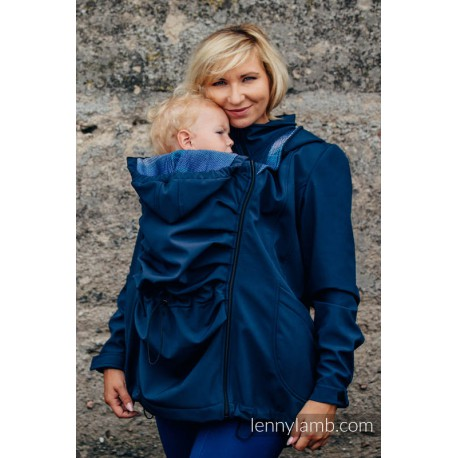 Lennylamb - Softshell - Navy Blue Illusion