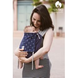 Limas Baby Carrier - Bleu/Gris (Ancres)