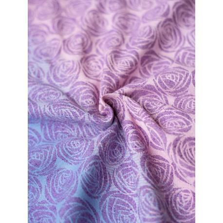 Oscha - Roses Art Lover Kelvingrove - 39% coton combiné organic,17% lin , 22% soie, 22% coton