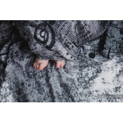 Lennylamb - Gaze pour bébé - Symphony Black & White