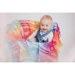 Lennylamb - Gaze pour bébé -  Rainbow Lace