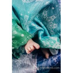Lennylamb - Gaze pour bébé -  Snow Queen Magic Lake