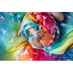 Lennylamb - Couverture - Modèle -  Swallows rainbow light