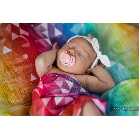 Lennylamb - Gaze pour bébé -  Swallows rainbow Light