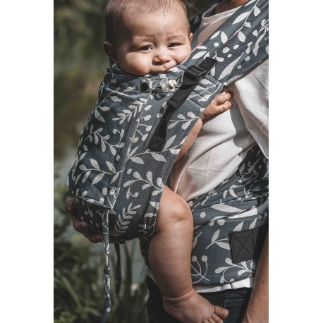 Limas Baby Carrier - Flora Cool Grey