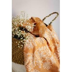 Limas - Echarpe de portage Blossom Summer Gold T6 - 100% coton