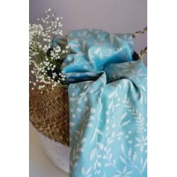 imas - Echarpe de portage Flora Magic Mint T6 - 100% coton
