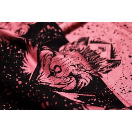 Luluna - Sling Wolf Black Flamingo