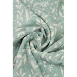 Couverture en gaze LIMAS - Flora Mint