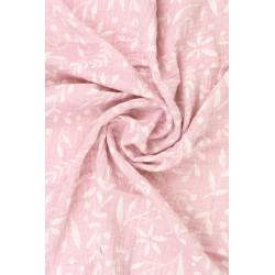 Couverture en gaze LIMAS - Flora Pink