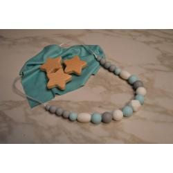 Collier de et Allaitement  Portage Perle en silicone