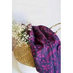 Limas - Echarpe de portage Flora Poppy Pink 6 - 100% coton
