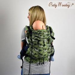 Babymonkey - préformé a clips- WildHorse Sage