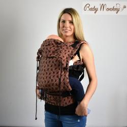 Babymonkey - préformé a clips- Papyrus Arancio