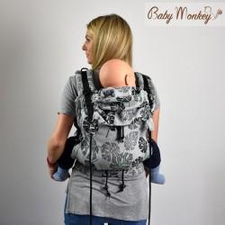 Babymonkey - préformé a clips- Rainforest Rosemary Reverse