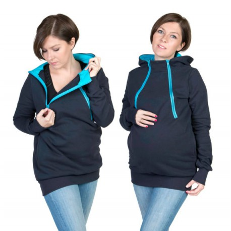 Fun2BEmum - Sweatshirt de portage/ Allaitement / Grossesses
