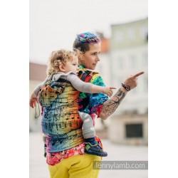 Lennylamb - Préformé à clips Toddler - Symphony Rainbow Dark