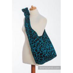 Lennylamb - Sac de portage - Giraffe Black & Torquoise